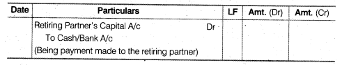 NCERT Solutions for Class 12 Accountancy Chapter 4 Reconstitution of a Partnership Firm – Retirement Death of a Partner LAQ Q1