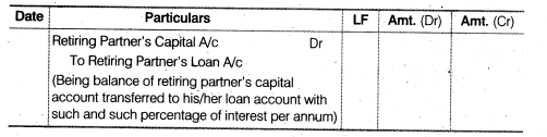 NCERT Solutions for Class 12 Accountancy Chapter 4 Reconstitution of a Partnership Firm – Retirement Death of a Partner LAQ Q1.1