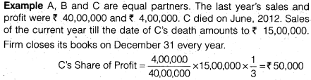 NCERT Solutions for Class 12 Accountancy Chapter 4 Reconstitution of a Partnership Firm – Retirement Death of a Partner LAQ Q4.3