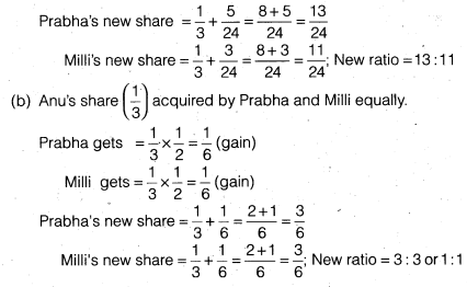 NCERT Solutions for Class 12 Accountancy Chapter 4 Reconstitution of a Partnership Firm – Retirement Death of a Partner Do it Yourself I Q5