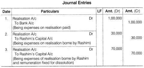 NCERT Solutions for Class 12 Accountancy Chapter 5 Dissolution of Partnership Firm Numerical Questions Q6