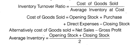 NCERT Solutions for Class 12 Accountancy Part II Chapter 5 Accounting Ratios SAQ Q3