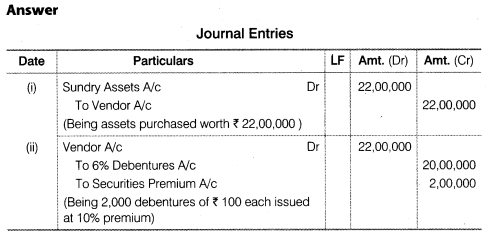 NCERT Solutions for Class 12 Accountancy Part II Chapter 2 Issue and Redemption of Debentures Do it Yourself I Q3