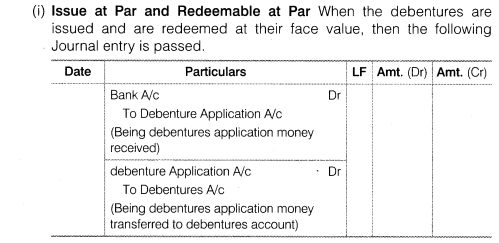 NCERT Solutions for Class 12 Accountancy Part II Chapter 2 Issue and Redemption of Debentures LAQ Q5