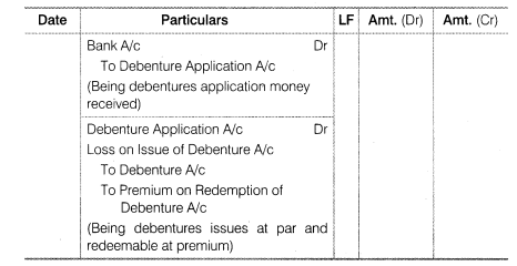 NCERT Solutions for Class 12 Accountancy Part II Chapter 2 Issue and Redemption of Debentures LAQ Q5.3
