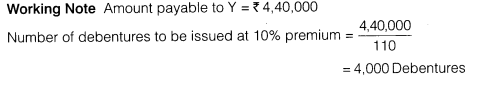 NCERT Solutions for Class 12 Accountancy Part II Chapter 2 Issue and Redemption of Debentures Numerical Questions Q11.1